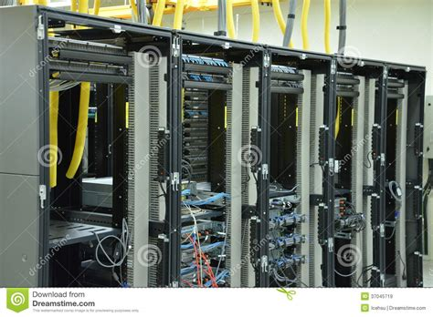 Datacenter Rack Management by Data Center Rack And Stacks Royalty Free Stock Images Image 37045719