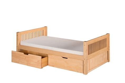 Platform Beds With Drawers And Headboard by Camaflexi Size Platform Bed With Drawers Mission