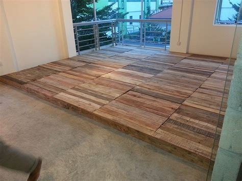 Pallet Wood Floor The Magnificent Things You Can Do With Pallet Wood Floor
