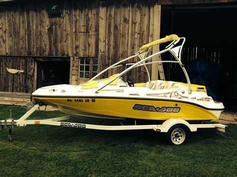 sea doo jet boat hp sea doo 155 hp 2006 for sale for 9 900 boats from usa