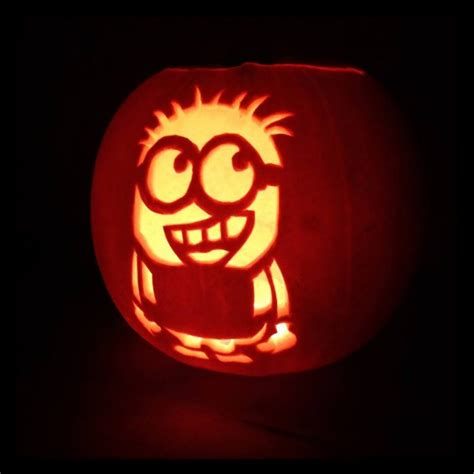 pumpkin carving templates minion who is ready for and has their minion pumpkins