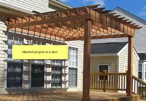How To Build A Pergola Attached To The House by How To Differentiate Trellises Arbors Gazebos And Pergolas