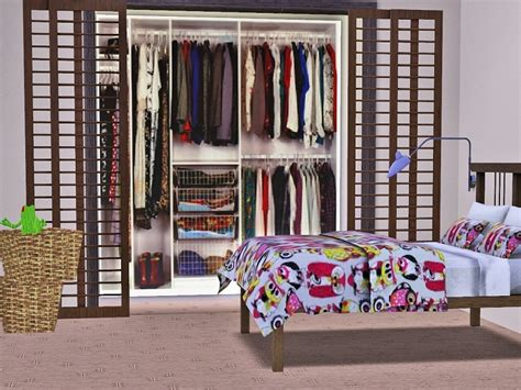 Sims 3 Closet by Patrymad S Realistic Dressing Room 003