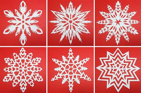 How To Make A 6 Pointed Paper Snowflake - how to make a 6 pointed paper snowflake holidays are