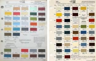 Mitsubishi Paint Code 1978 79 Magnum Xe Gt Information Fender Tag Vin