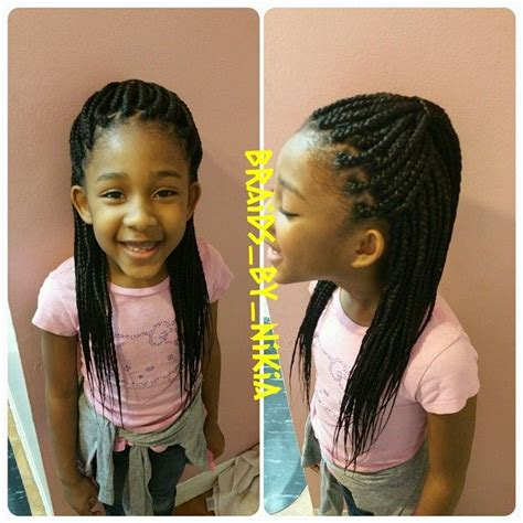 singles platting african styles braids by nikia kids individual braids