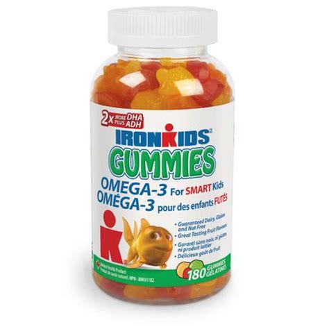 Healthy Omega 3 Gummies ironkids omega 3 180 gummies walmart canada