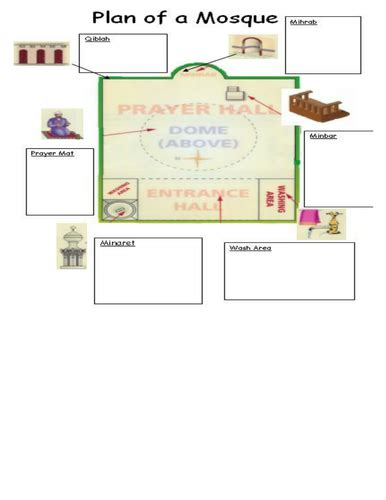 layout features lesson place of worship lesson 2 mosque by mwall002 teaching