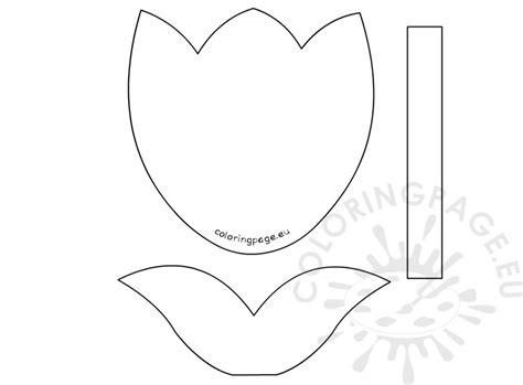 tulip template printable