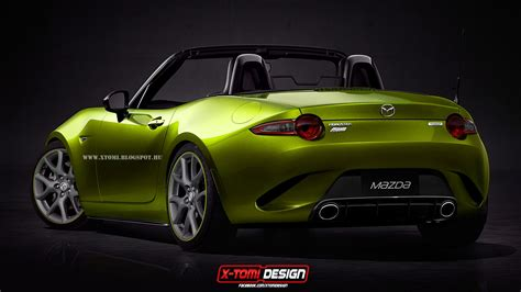 mazda mx5 new mazda mx 5 miata mps gets rendered looks badass