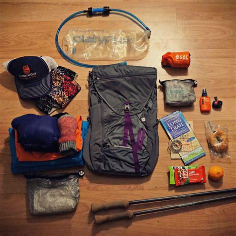 backpacking light gear lightweight essential day hiking gear