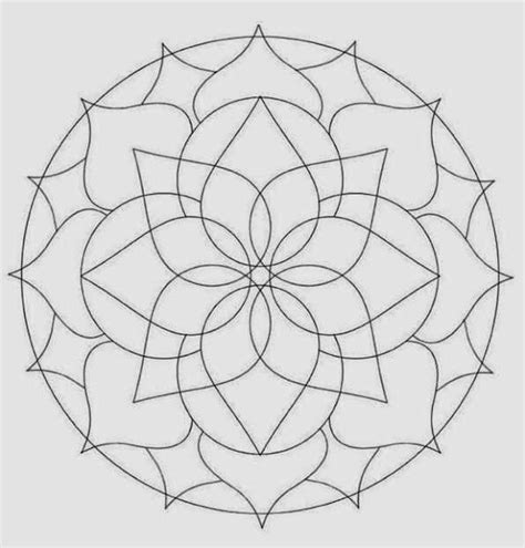leaf mandala coloring page free autumn coloring pages coloring download