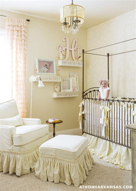 Cabin Crib Bedding In 9 Month S Room The Crib And Glider Are From Kid S Furniture Custom Bedding Is