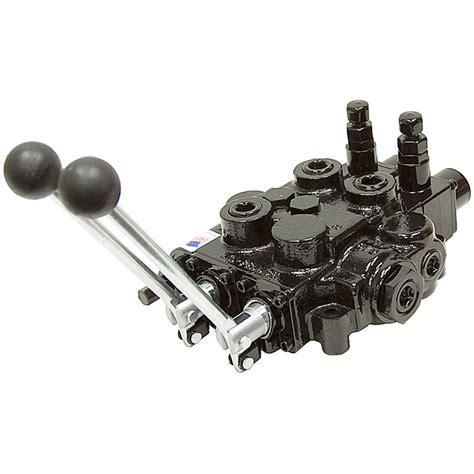 log splitter hydraulic valve diagram 1 spool prince auto cycle log splitter valve w pb