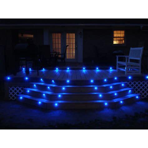 Lu Led Kitchen Set led deck lights kit set of 8 in blue