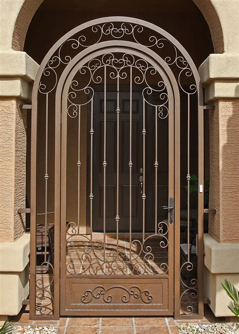 Front Door Gate Designs Impression Security Doors Gilbert Az 85233 Angies List