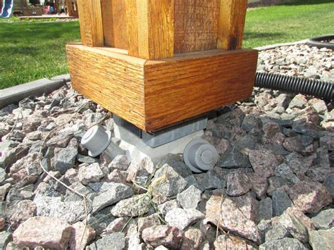 Building Code Concrete Deck Footings ? Doherty House