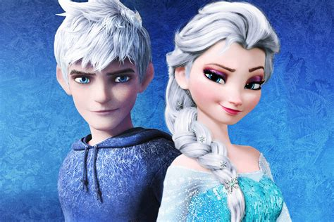imagenes de jack frost y elsa de frozen jack frost and elsa fanfiction wallpaper elsa jack