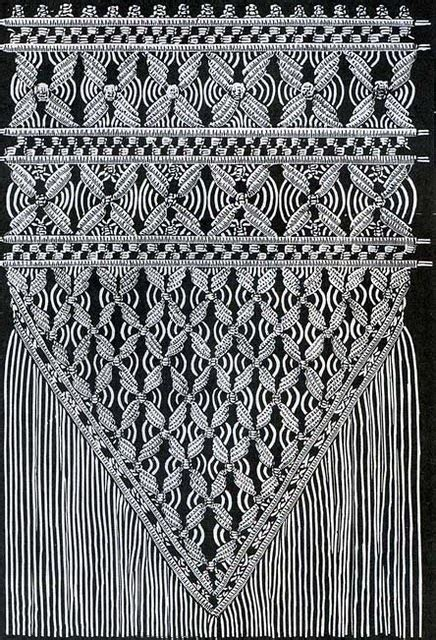 Types Of Macrame - macrame this would be interesting to translate into a