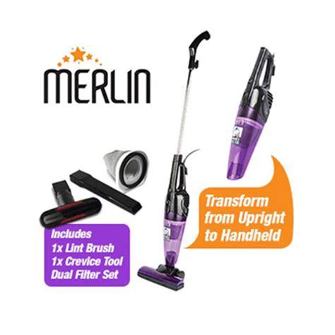 merlin 2 in 1 mini vacuum cleaner gold