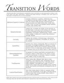 transition words for expository essays transitions in essays miracosta college