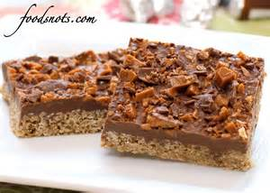 recipe snobs chocolate oatmeal bars