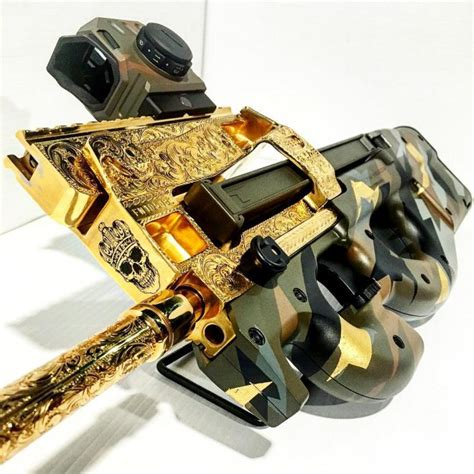 Bling Gold Ar fn ps90 supreme bling edition the firearm blogthe firearm