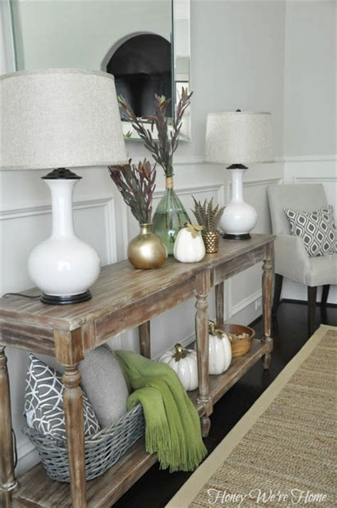 Console Table Dining Room Neutral Dining Room Console Table Honey We Re Home House Decorators Collection