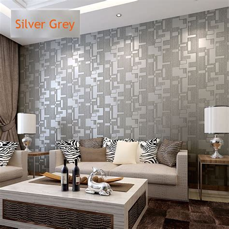 Silver Wallpaper For Living Room by Https Www Pl Search Q Black And White Home