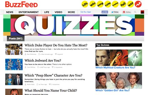 buzzfeed color quiz if you were a buzzfeed quiz which quiz would you be take