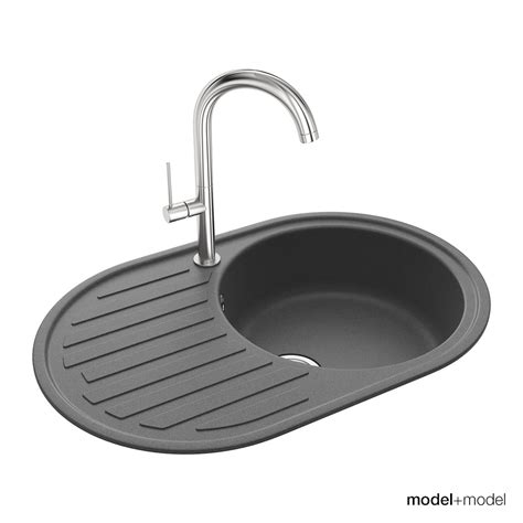 round kitchen sink round kitchen sinks by modelplusmodel 3docean