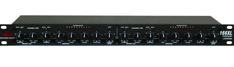 Dbx 166xl 2 Channel Compressor Limiter With Noise Gate dbx 166xl 2 channel compressor limiter with noise gate