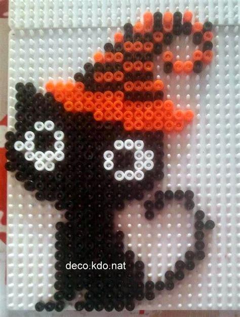 black hama black cat hama perler by deco kdo nat
