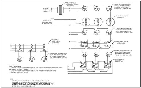 wiring diagram taco zone valve wiring diagram white