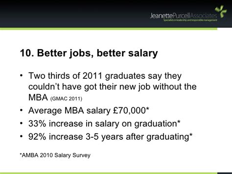Mba Faculty Salary by 10 Reasons Why You Should Get An Mba