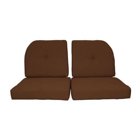 loveseat cushion set paradise cushions sunbrella sierra 4 piece outdoor