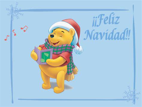 imagenes animadas de winnie pooh en navidad los dibujos de una vida en postales disney
