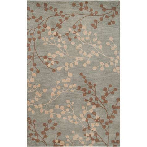 area rugs home decorators home decorators collection blossoms blue 9 ft x 12 ft