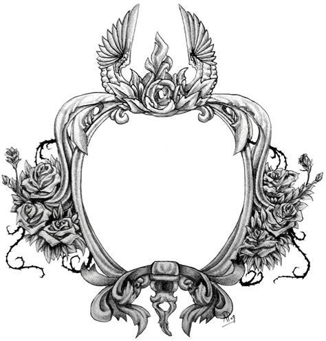 tattoo frame design 35 awesome frame designs