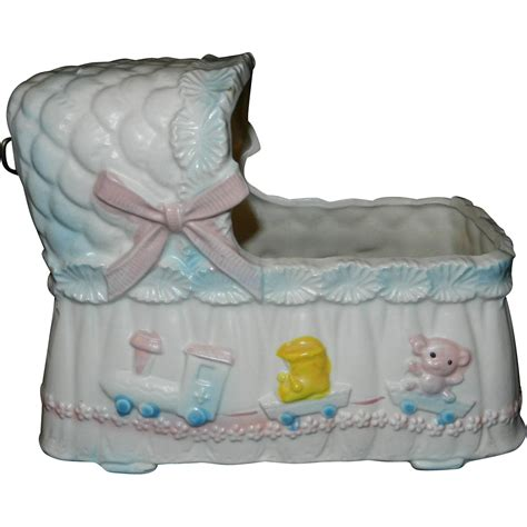 vintage made in japan baby planter from