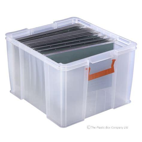 plastic file box 48 litre allstore plastic filing boxes with lids plastic box shop