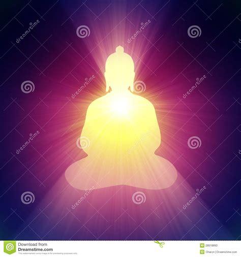 Purple Halo Lights by Buddha Light Halo Glowing Bright Flare Stock Photos