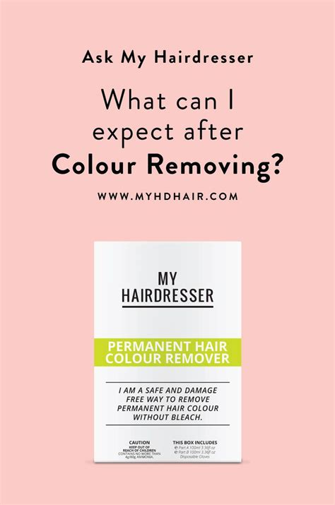 color removing shoo ask my hairdresser what can i expect after colour