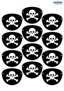 printable pirate party decorations supplies free