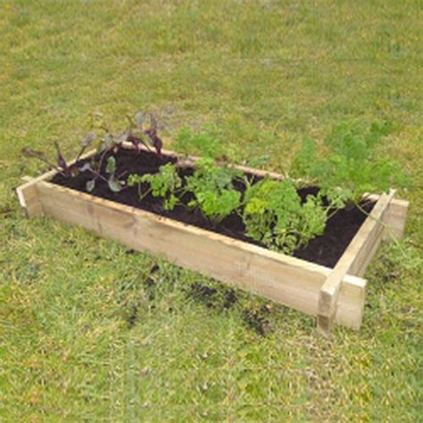 Raised Bed Planter by Raised Vegetable Bed Planter