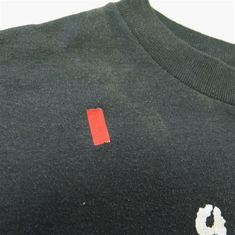 Hoome Vintage Fido Dido T Shirt vintage 80s fido dido t shirt mens l black 50 50 velva