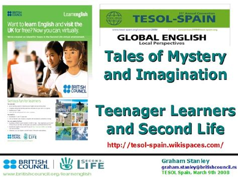 biography for english learners learn english second life for teens
