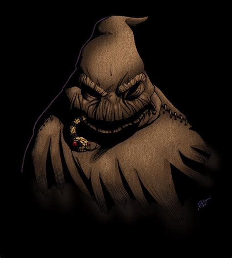 oogie boogie man by python777 on deviantart