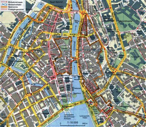 map of city of large detailed road map of zurich city center zurich city