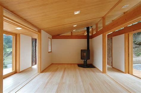 japanese wooden house design japanese wooden weekend house by k2 design digsdigs